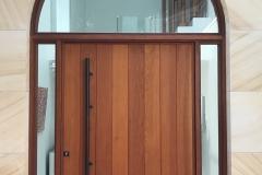 Newport door outside closed